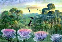 Mary Poppins Concept art