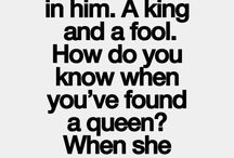 ...kinging and queening