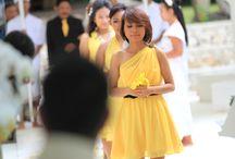Romantic Wedding  / Yellow