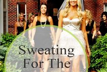 Sweating for the Wedding / Sweating for the Wedding tips and products! Get fit before the wedding with our great ideas and rhinestone items! / by RhinestoneSash.com