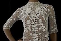 Irish Crochet Lace/Crochet Irlandés / El crochet irlandés es la técnica que utilizo para mis trabajos para novia y fiesta. Aquí podéis ver una selección de piezas realizadas con esta técnica en su mayoría muy antiguas que hoy en día se encuentran en museos.