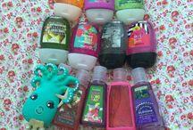 Hand gel collection  / Bath & Body Works