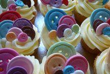 Cupcakes and pretty cakes / Mooie taarten en cupcakes