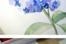 Flower Watercolor Step by Step