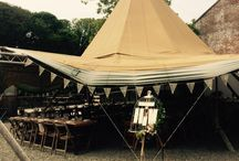 Gorgeous Tipi Weddings / We LOVE catering for tipi weddings! Tipis provide a stunning setting for the perfect countryside wedding. Here's some inspiration from the Holdens Catering team...