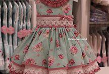 vestidos infantis ll