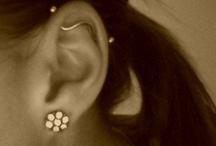 Piercings / Cute earrings/piercing  / by Bre Adams