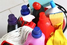 Spring Cleaning 16 / Don't let spring cleaning tasks steal your time. Use simple tips to make spring cleaning easier!