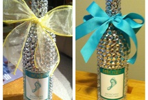 Mary's creations wine and Spirit Bottles