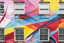 Wall art in London