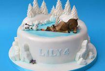 fronzen cake
