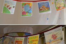 Book corner/displays