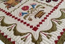 Album Quilts / Beautiful art work in quilting and appliqué