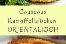 Couscous-Frikadellen