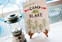 Camping Party Ideas / Camping party ideas, glamping party ideas, camping birthday, kids party ideas, outdoor camping theme, camping theme