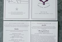 Wedding invites / by Pat Grady