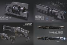 Weaponry / Real or imaginary weapons CG or otherwise