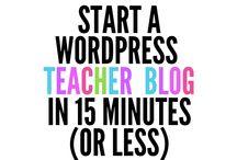 Blogging/Website Resources
