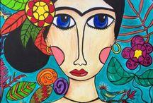 Frida / My Frida art work