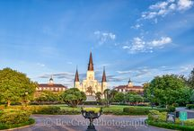 Louisiana / These are images from Louisiana including New Orleans, cityscapes, Oak Alley Plantation.  We offer high quality images for editorial use, along with canvas, metal and fine art prints,