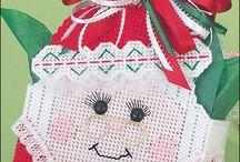 mr. mrs. Santa Claus basket