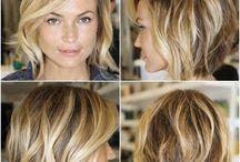 Hår - inspirasjon til farge, klipp og frisyrer