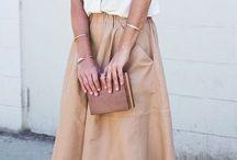 outfit spódnicowy