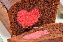 Leuk hartje in de cake en ook simpel, leuk dat het hartje een ander kleur heeft als de cake dan valt die heel goed op en is het nog leuker