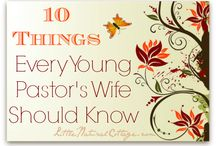 Just for Pastor's Wives / Encouragement, inspiration, and grace for pastor's wives.