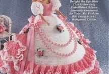 Barbie crochet / by Barbara Wlochinska