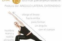 Yoga / Posiciones y secuencias de yoga