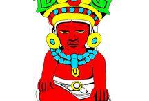 Native Indian-american culture