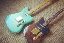 custom guitars and gear / Custom and Vintage guitars design and some hot stuff / by Henrico