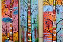 Abstract (Colourful) Paintings