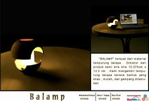 Coconut lamp new design / New design