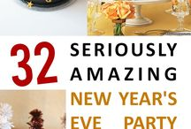 New Years Eve / Crafts and fun things for ringing in the New Year
