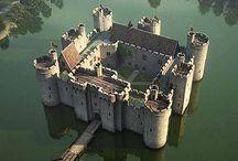 Medieval castle Средневековый замок
