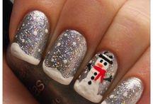 kerst/pasen nails