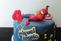 Bolos Homem Aranha