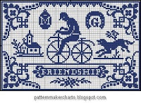 Patterns in embroidery