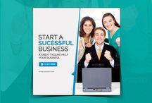 Business Instagram Banner (start sucessful Business)