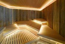 Подсветка бани