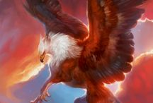 Griffon and hippogriff