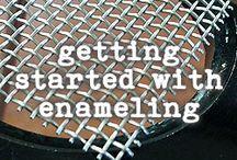 getting started enameling