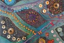 machine embroidery / by Sandi M