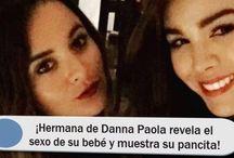 ¡Hermana de Danna Paola revela el sexo de su bebé y muestra su pancita!