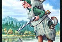 Картинки охота и рыбалка