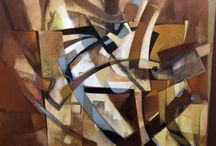 Abstract Art / Abstract art from The Eddie Basha Collection