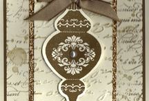 Cards - Christmas SU Ornament Keepsakes
