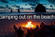 Beach Camping/Beachin' / by Lynn Ratajczak Stelmack